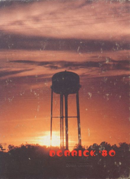 1980 Burkburnett High School Yearbook Cover