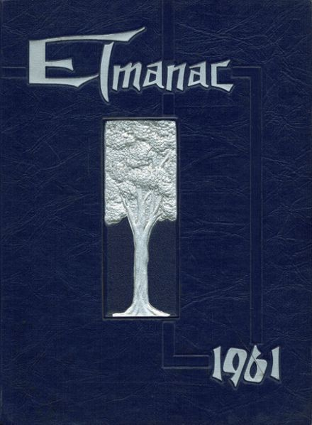 1961 Canon-Mcmillan High School Yearbook Cover