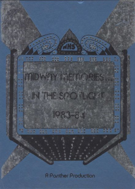 1984 Midway High School Yearbook Cover