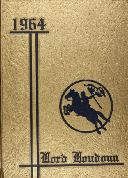 1964 Loudoun County High School Yearbook Cover