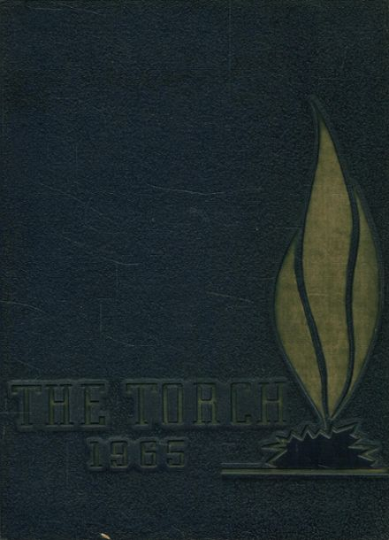 1965 St. Mary's Seminary Yearbook Cover