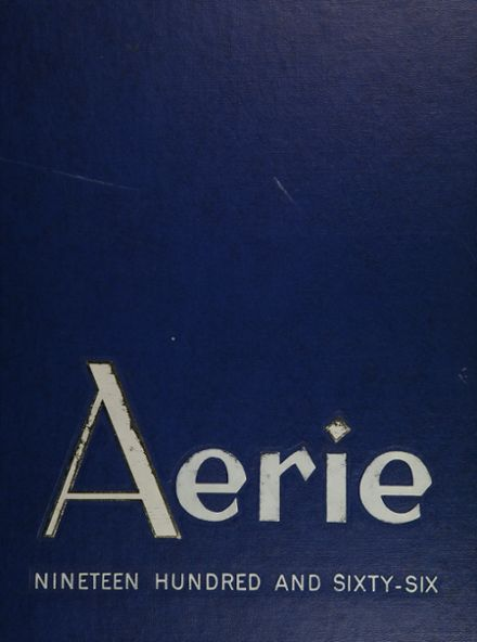 1966 Taft High School Yearbook Cover