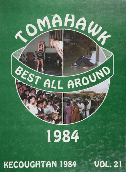 1984 Kecoughtan High School Yearbook Cover