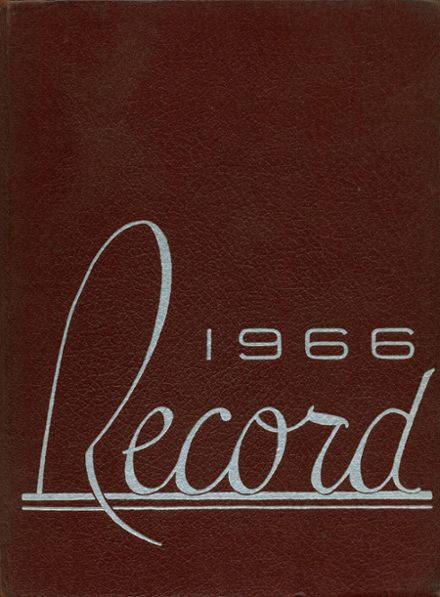 1966 Littleton High School Yearbook Cover