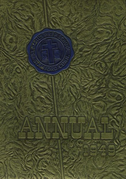 1949 St. Basil's Preparatory School Yearbook Cover