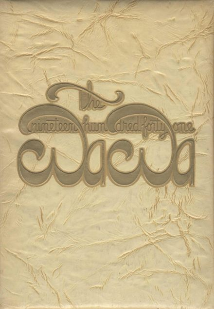 1941 Wenatchee High School Yearbook Cover