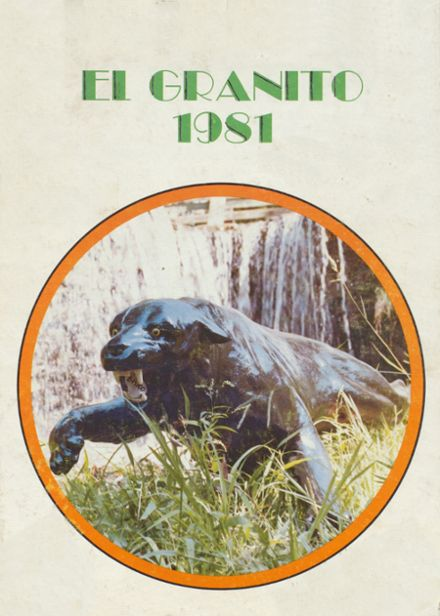 1981 Porterville High School Yearbook Cover