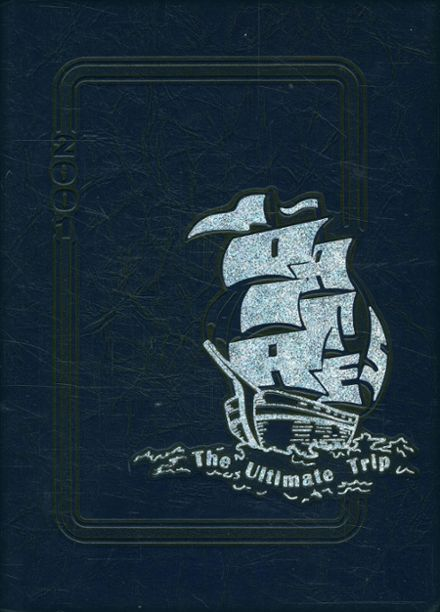 2001 St. Charles High School Yearbook Cover