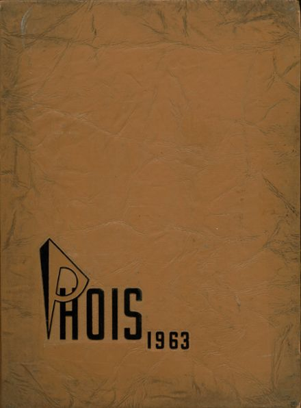 1963 Poughkeepsie High School Yearbook Cover
