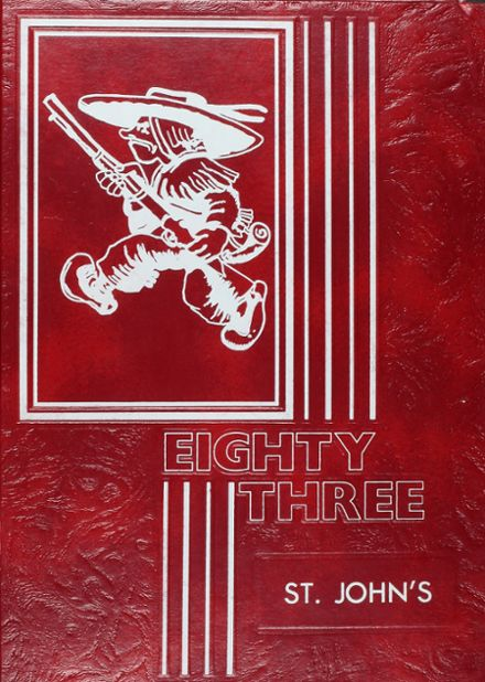 1983 St. John's High School Yearbook Cover
