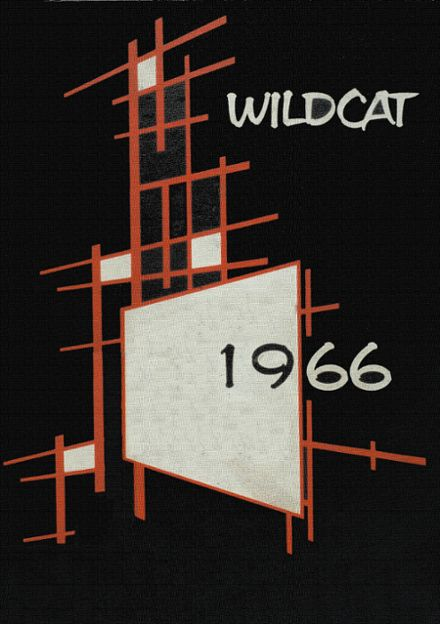 1966 Boise City High School Yearbook Cover