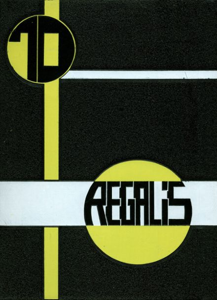 1970 John P. Stevens High School Yearbook Cover