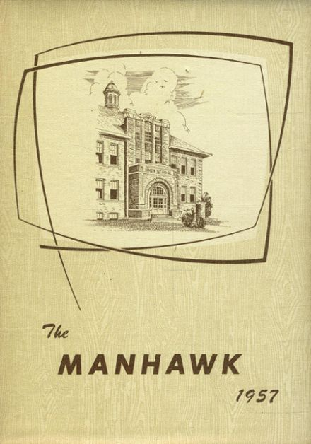 1959 Manchester High School Yearbook Cover