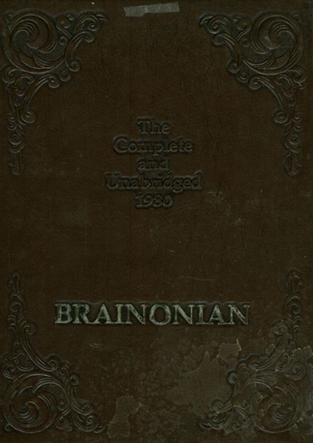 1980 Brainerd High School Yearbook Cover