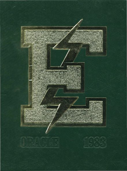 1983 Edison High School Yearbook Cover