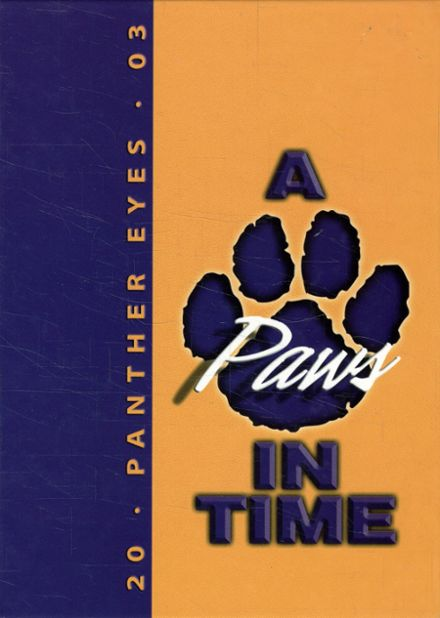 2003 Ashdown High School Yearbook Cover