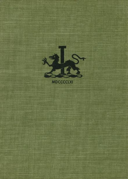 1961 St. Andrew's High School Yearbook Cover