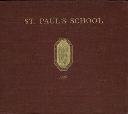 1925 St. Paul's School Yearbook Cover