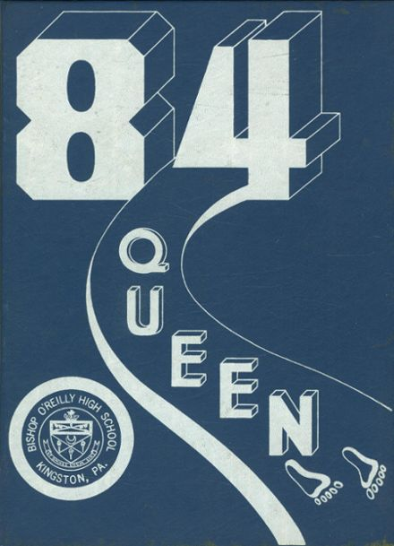 1984 Bishop O'Reilly High School Yearbook Cover