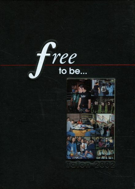 2002 Fairfield High School Yearbook Cover