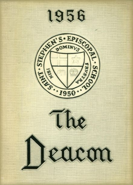 1956 St. Stephen's Episcopal High School Yearbook Cover