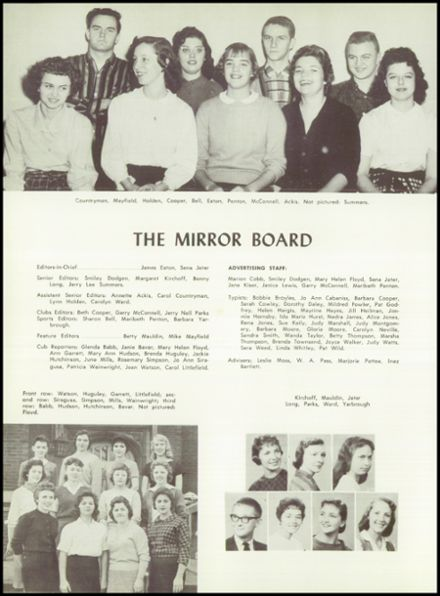 1960 Phillips High School Yearbook Page 8