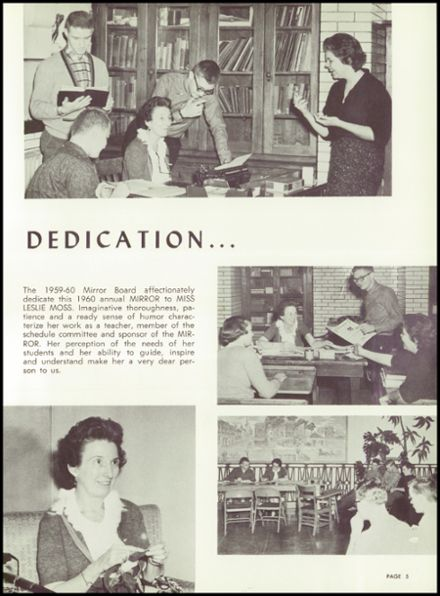 1960 Phillips High School Yearbook Page 9