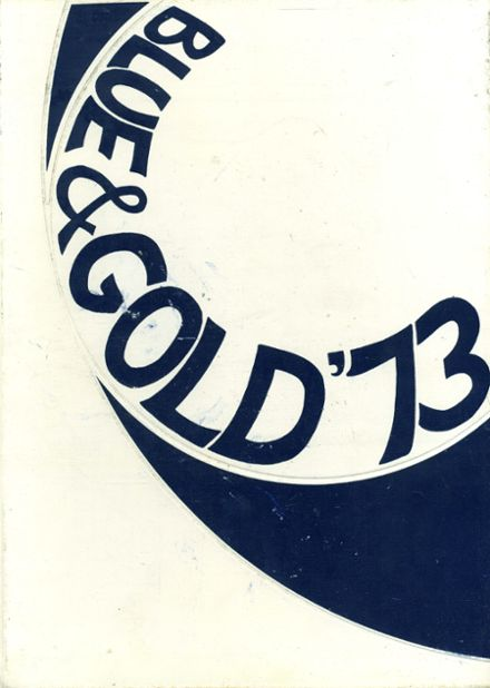 1973 Unionville High School Yearbook Cover