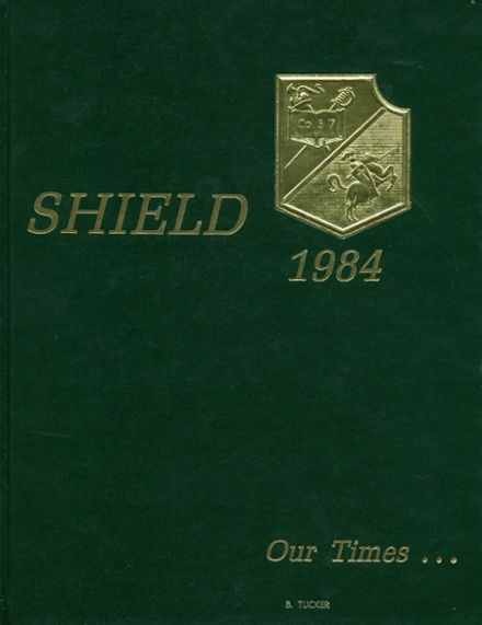 1984 North Central High School Yearbook Cover