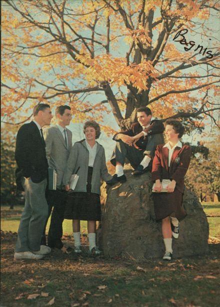 1960 St. John's Cathedral School Yearbook Cover