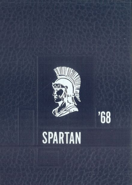 1968 Simley High School Yearbook Cover