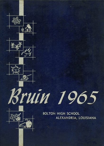 1965 Bolton High School Yearbook Cover