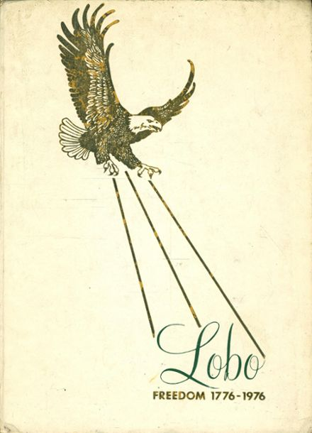 1976 Longview High School Yearbook Cover