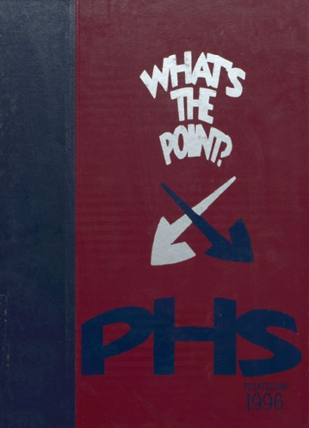 1996 Pocatello High School Yearbook Cover