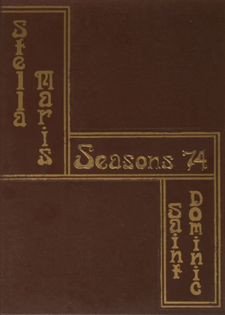 1974 St. Dominic's High School Yearbook Cover