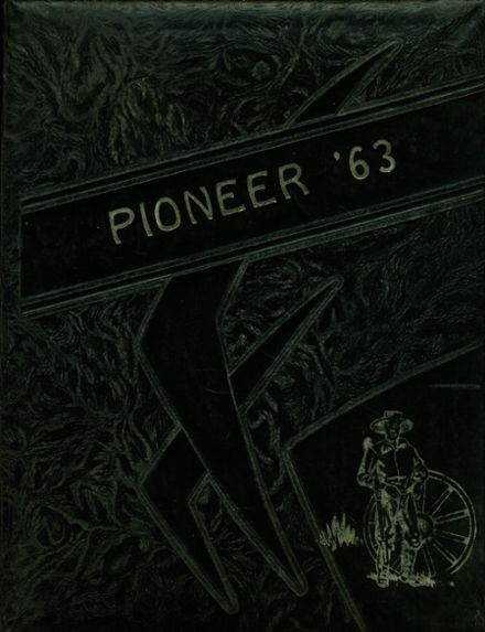 1963 Gentry High School Yearbook Cover