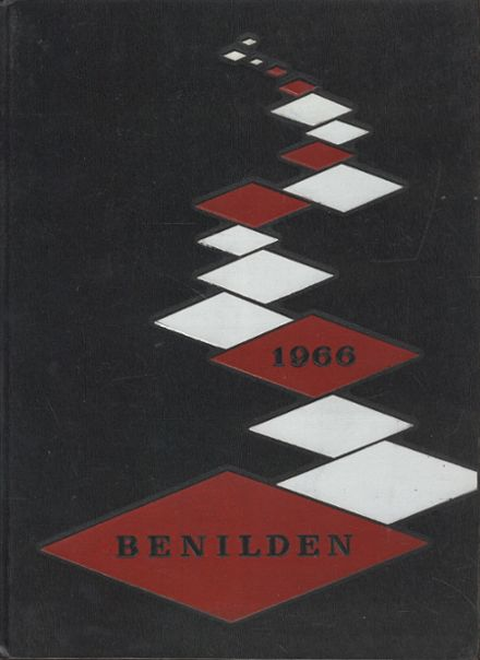 1966 Benilde-St. Margarets High School Yearbook Cover