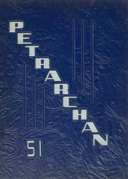 1951 St. Peter's High School Yearbook Cover
