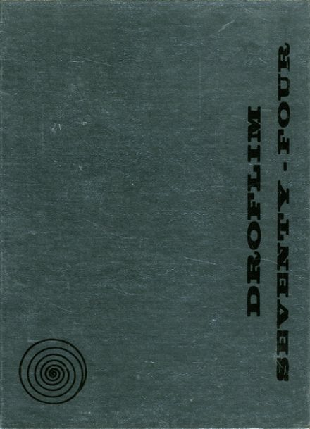1974 Milford High School Yearbook Cover