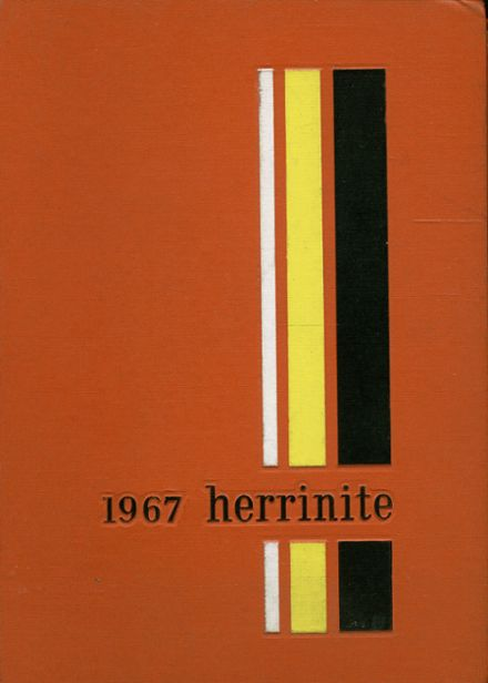 1967 Herrin High School Yearbook Cover