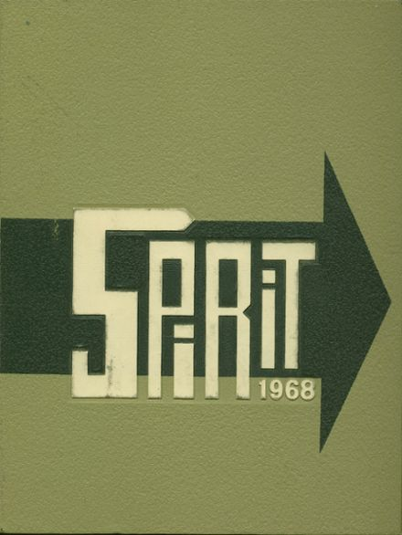 1968 Shrine Catholic High School Yearbook Cover