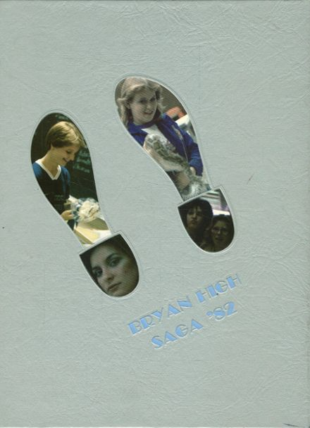 1982 Bryan High School Yearbook Cover