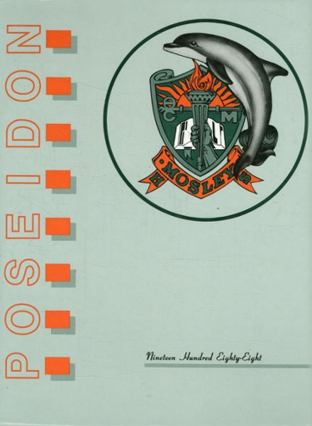 1988 Mosley High School Yearbook Cover