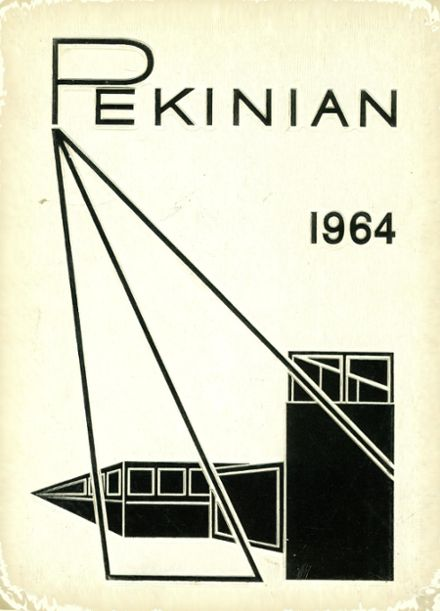 1964 Pekin Community High School Yearbook Cover