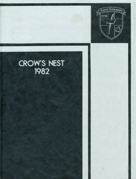 1982 St. Edward's School Yearbook Cover