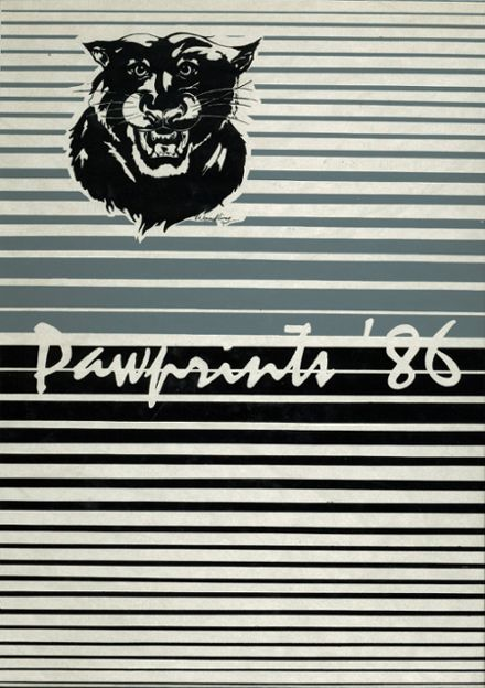 1986 Northern Bedford County High School Yearbook Cover