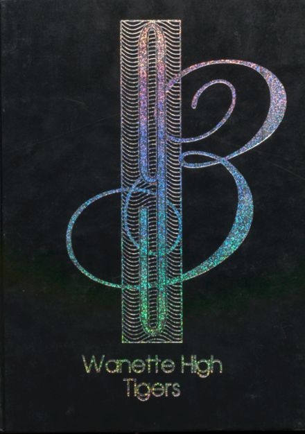 1993 Wanette High School Yearbook Cover