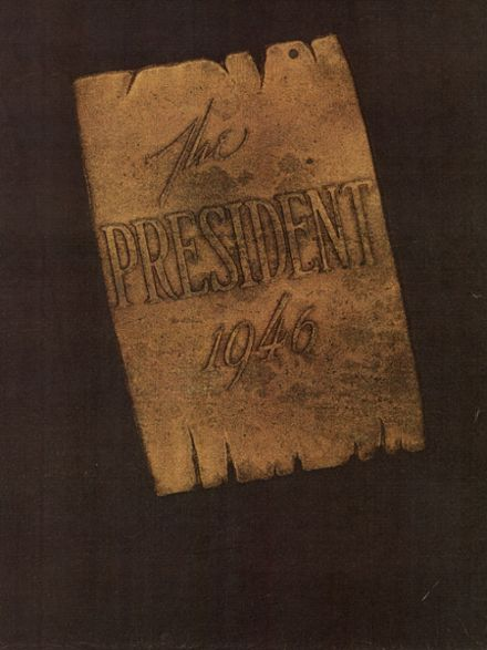1946 Wilson High School Yearbook Cover