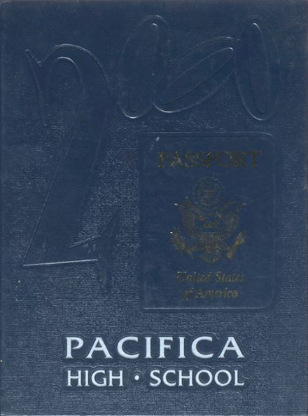 Explore 2000 Pacifica High School Yearbook Garden Grove