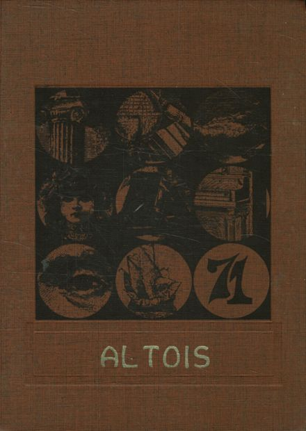 1971 Altamont Community High School Yearbook Cover